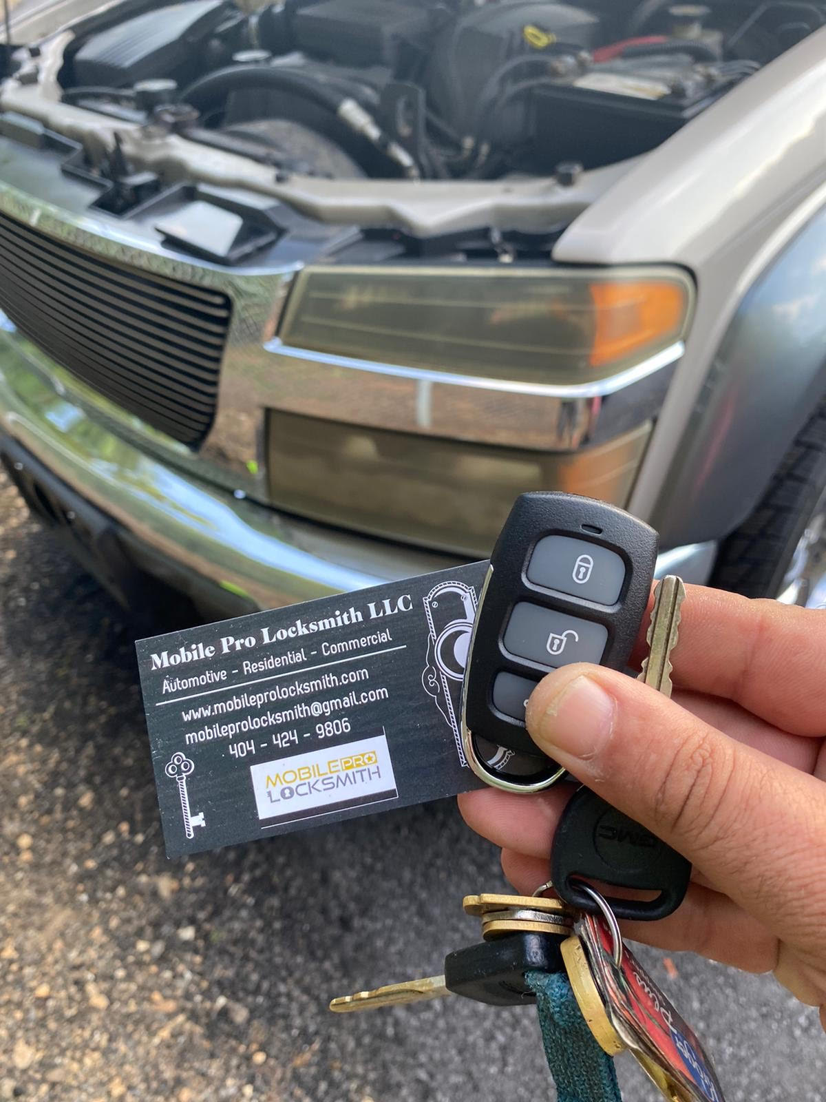 Mobile Pro Locksmith LLC automotive locksmith services in Lawrenceville Ga